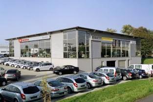Neubau Autohaus Ehrlich