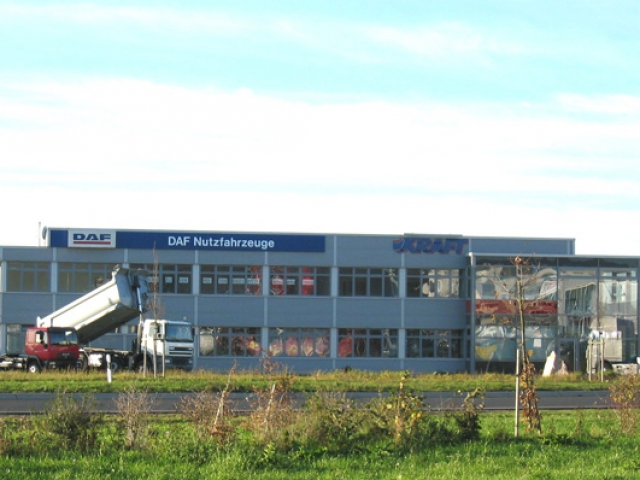Neubau LKW Haus Kraft Kleinostheim